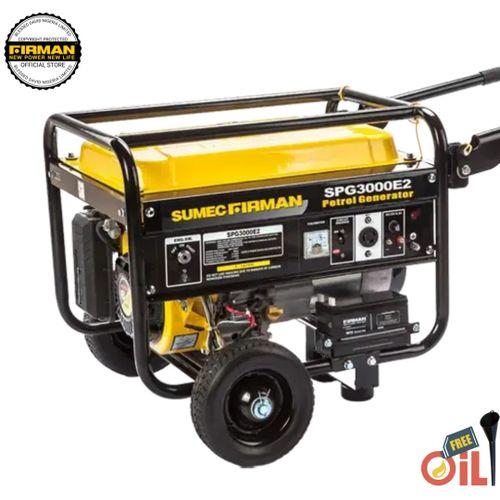 FIRMAN 3.2Kva SPG 3000E2 Generator, Remote Control