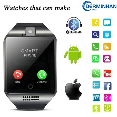 Q18 The 2021 Upgraded Call Smartwatch Supports SIM/TF Card