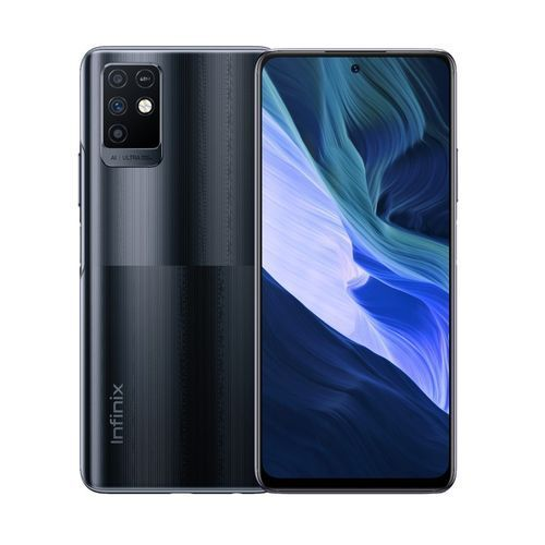 """Note 10 (X693)- 6.95"""" FHD+, 64GB/4GB Memory, 48 MP Front Camera, 16MP Selfie, Android 11, Fingerprint, 4G LTE - Black"""