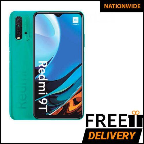 Redmi 9T 4GB 64GB, 48MP+8MP+2MP+2MP,6000mah,Snapdragon 662, Corning Gorilla Glass - Ocean Green