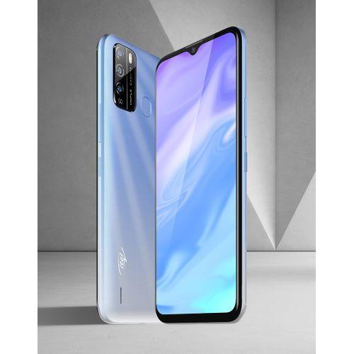 "S16 6.5"" HD FullScreen, 16GB ROM + 1GB RAM, Android 10, 4000mAh, 8MP Triple Rear Camera, Fingerprint - Ice Crystal Blue"