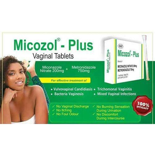 Generic MICOZOL®-PLUS VAGINAL TABLETS (Miconazole Nitrate 200mg +  Metronidazole 750mg) | Jumia Nigeria