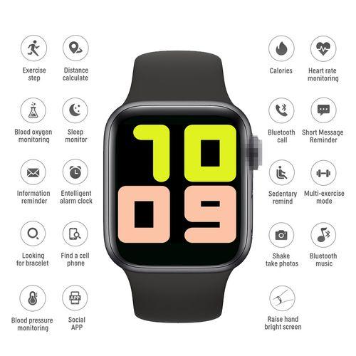 Smart Watch Music Control Waterproof Fitness Tracker