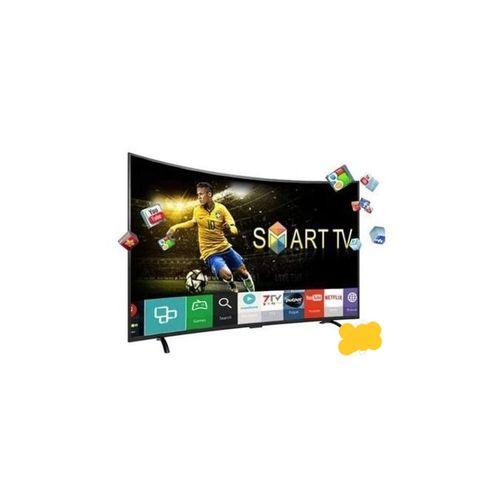 40 Inches Curve Smart TV With Inbuilt NETFLIX +wall Bracket