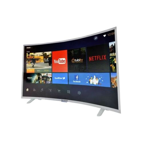 43 INCH FULL HD ANDROID SMART CURVED LED TV WITH NETFLIX