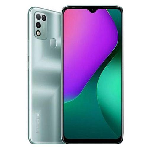 Hot 10 Play (X688B) 6.8-Inch (64GB ROM, 4GB RAM) 13MP+2MP+8MP Camera, 6000mAh Battery - Morandi Green
