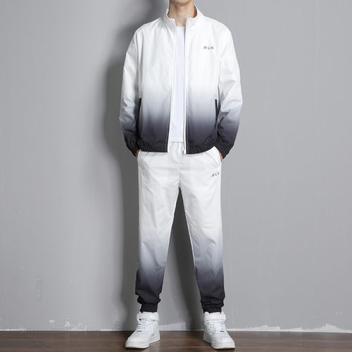 Men's Long Sleeve Trousers Reflective Suit