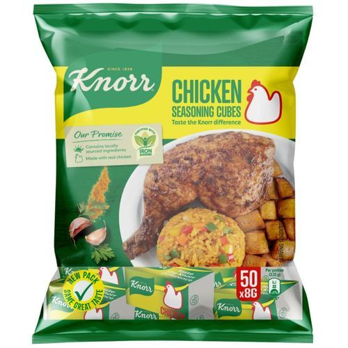 Chicken Seasoning Cubes Taste The Knorr Difference 50x8g
