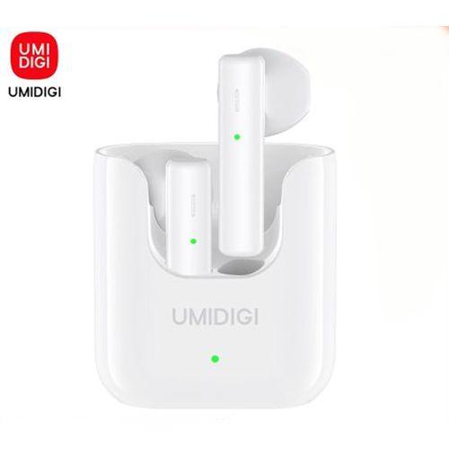 Air Buds U Wireless Earbuds Bluetooth 5.1 ENC Noise Reduction 380mAh Charging Box Portable Sports Bluetooth Earphone-White