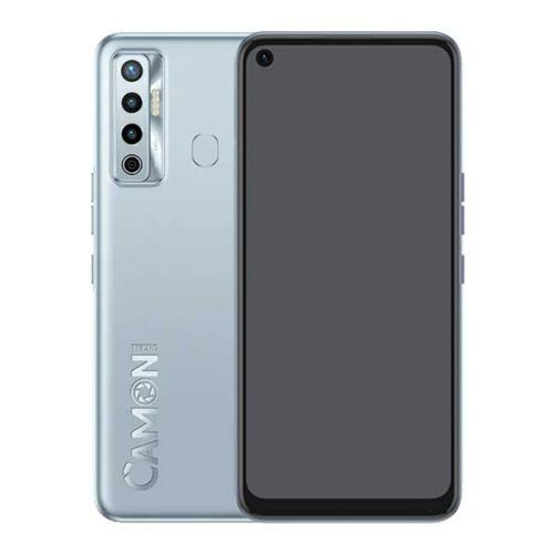 """Camon 17 (CG6) 6.6"""" 90Hz HD+, 4GB RAM + 128GB ROM, 48MP Triple Rear + 8MP Front ,Android 11, 5000mAh, 4G - FROST SILVER"""