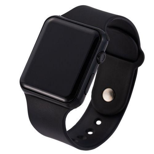 Silicone LED Digital Sports Electronic Wristwatch - Unisex