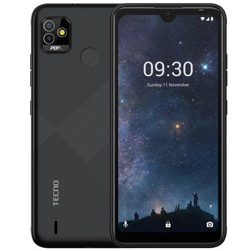 """POP 5 (BD2P) -6.1"""" HD+ Display-2GB RAM/32GB ROM, 5000mAh, Android 10, 5MP/5MP Camera, Fingerprint & Face ID - Obsidian Black"""
