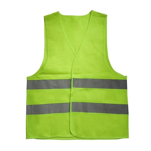 Reflective Warning Vest Working Clothes High Visibility Protective Vest-green-XL