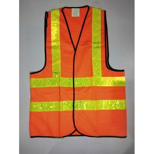 Reflective Safety Vest Premium Brand - Orange. By 2 Pieces