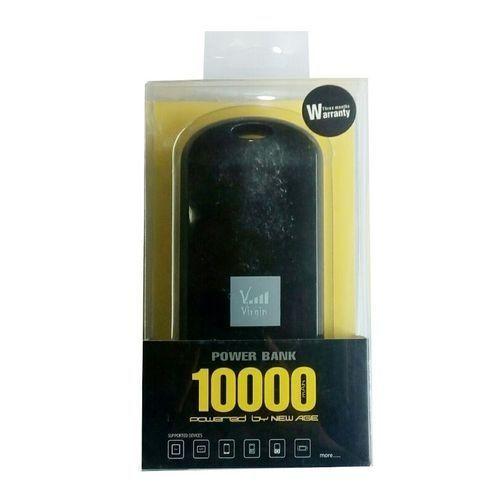 10000mAh Virgin Power Bank( Black)