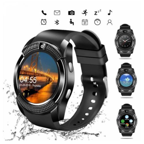 Smart Mobile Sport Watch With SIM Memory Card Slot