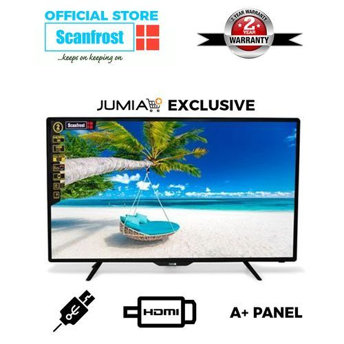 32-Inch LED Television SFLED32TC+ 2 Years Warranty