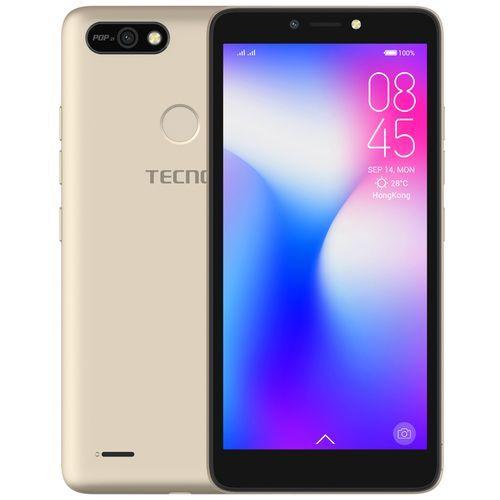 "POP 2F (B1G)- 5.5"" Android 8.1, 16GB ROM + 1GB RAM, 8+5MP Beauty Camera, Fingerprint, Face ID, 2400mAh - CHAMPAGNE GOLD"