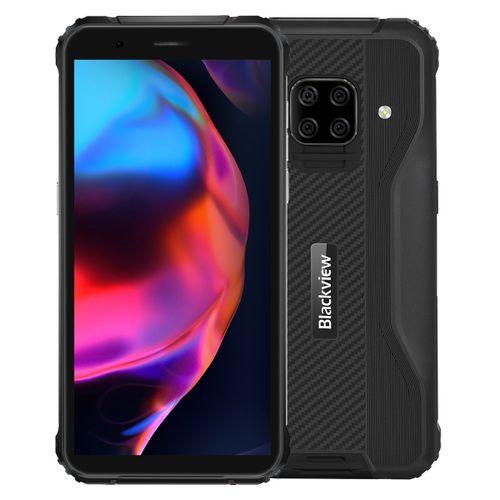 BV5100 Rugged Phone, 4GB+128GB, Quad Back Cameras, 5.7 Inch Android 10.0 4G - Black