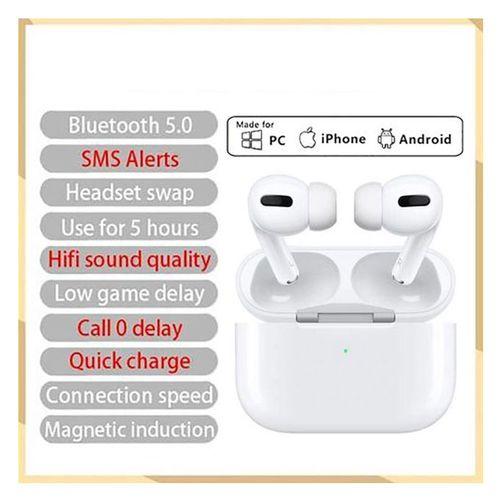 Niversal Bluetooth 5.0 Stereo Wireless Headphone-White