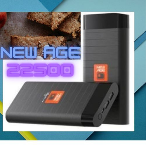 New 2021- Power Bank 22500 Capacity - Black
