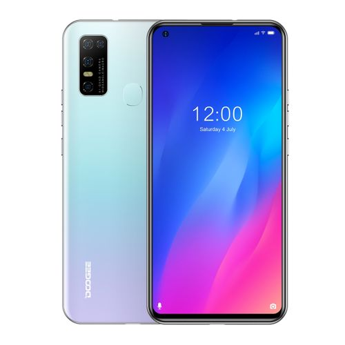 N30, 4GB+128GB, Quad Back Cameras, 6.55 Inch Android 10.0 4G - White
