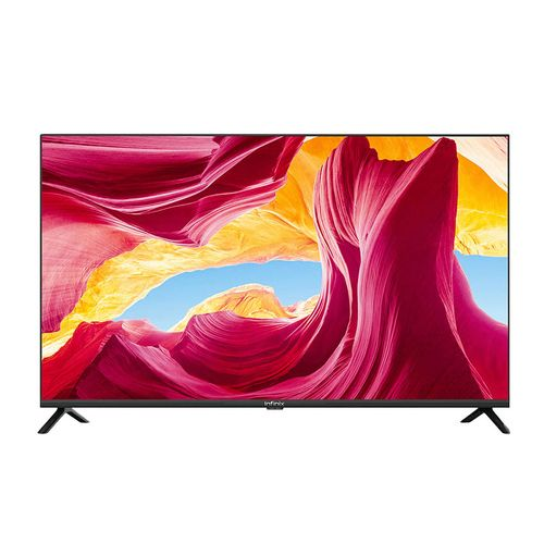 """Big Screen High QualityHome Electronic Television ''43"""" Inch TV XI ANDROID FHD Smart LED TV (with 2 Years Official Warranty-Chromecast Built-in) Black"""