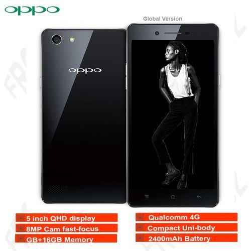 A33(Qualcomm 4G ,5 Inch QHD Display,2GB RAM +16GB ROM ,5MP+8MP Camera, 2400mAh Battery, Dual SIM )
