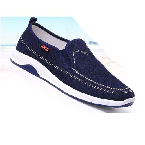 DNM Unisex Leisure Sneaker - Dark Blue