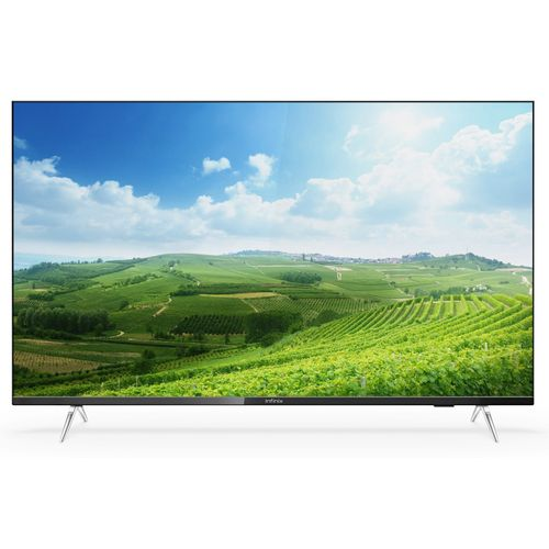"""Big Screen High Quality Home Electronic Television Ai ''55"""" Inch TV-UHD Smart LED Android TV (with 2 Years Official Warranty) - Black"""