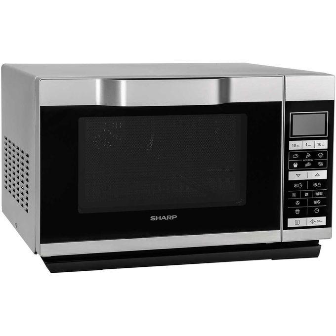 25 litre touch control digital combination microwave r861slm silver