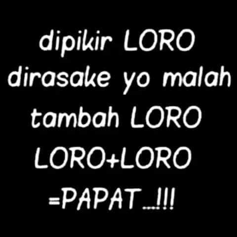 Meme Bahasa Jawa