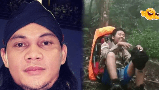 Video Viral Pendaki Gunung Ciremai Jawa Barat, Ada Sosok Hitam Mengintip di Sela-sela Pohon