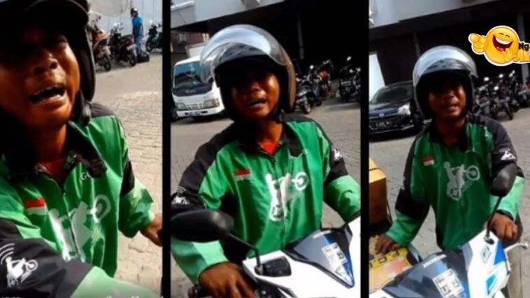 Viral Driver Gojek Nangis Gara-gara Orderan Dibatalkan Pelanggan
