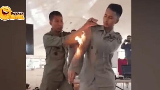 Penanganan Tubuh Terbakar Api
