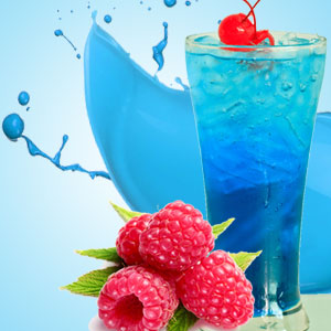 Raspberry Fragrance Oils: Blue Raspberry Slushie Fragrance Oil