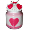 Valentines Day Candle