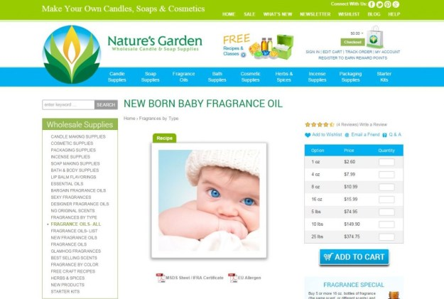 new born baby page