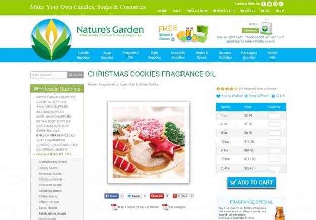 christmas cookies page