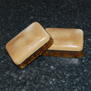 herbs in melt and pour soap