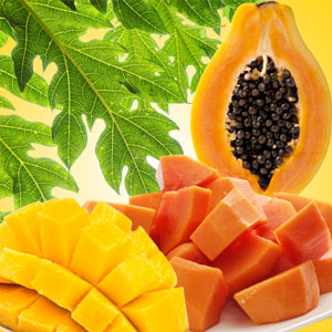 What Are the Best Scents for Summer: Mango Papaya Fragrance Oil