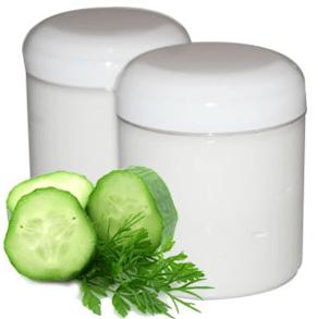 12 Easy Homemade Lotion Recipes: Cucumber Cream Recipe