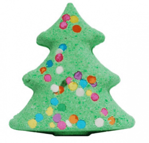 Creative diy Christmas Gifts: Christmas Tree Bath Bomb Recipe