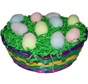 30 Free Bath Bomb Recipes: Easter Egg Bath Fizzies Recipe