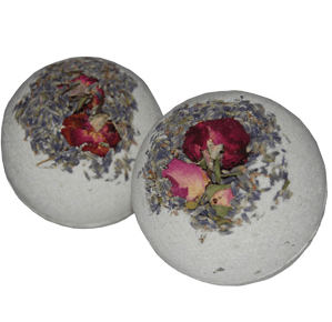 30 Free Bath Bomb Recipes: Lavender Sage Bath Bomb Recipe