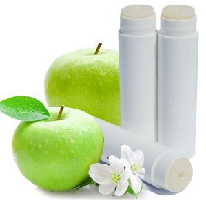 30 Free Lip Balm Recipes: Green Apple Lip Balm