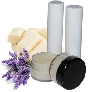 30 Free Lip Balm Recipes: White Chocolate Lavender Lip Balm Recipe