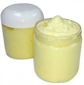 40 Homemade Sugar Scrub Recipes: Juicy Lemon Foaming Bath Whip Recipe