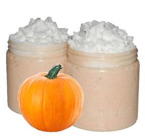 Craft Ideas for Fall Pumpkin Eggnog Foaming Sugar Scrub Recipe