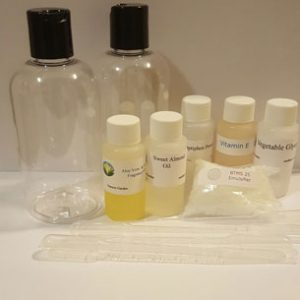Aloe Cucumber Hair Conditioner Kit Ingredients Included in the Kit